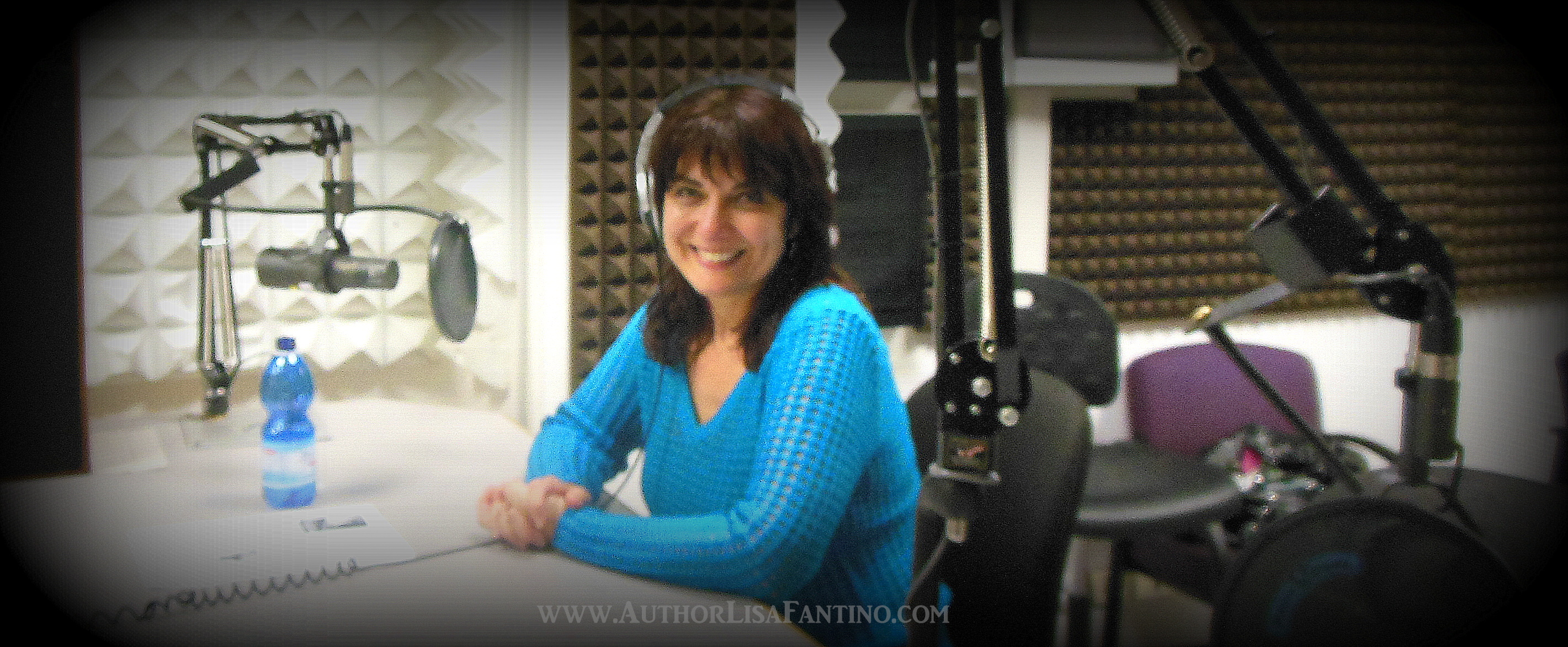 Lisa Fantino on the air